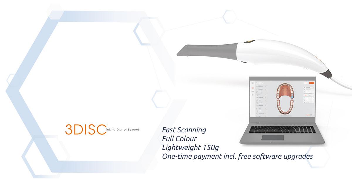 3Disc Heron™ IOS Colour Scanner